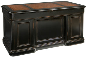 Hekman Office Louis Philippe Junior Executive Desk 79150 - Curios And More