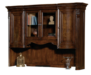 Hekman Office Executive Deck in Old World Walnut 79162 - Curios And More