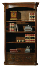 Hekman Office Executive Center Bookcase in Old World Walnut 79164 - Curios And More