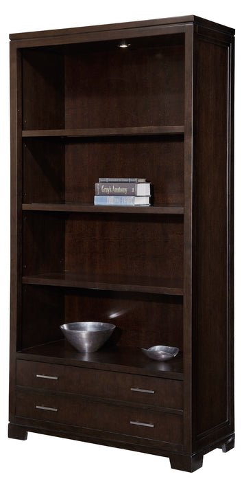 Hekman Office Executive Center Bookcase in Mocha 79184 - Curios And More