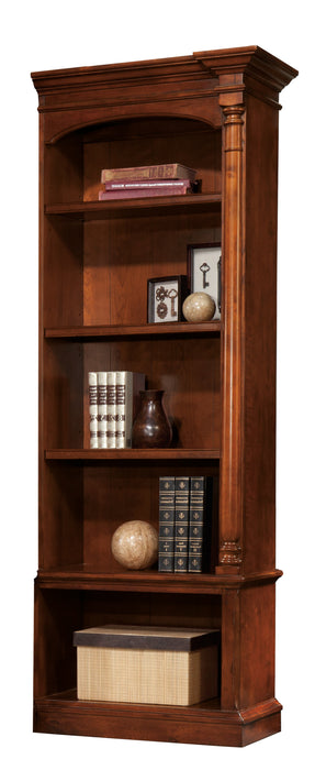 Hekman Office Executive Right Pier Bookshelf in Weathered Cherry 79275 - Curios And More