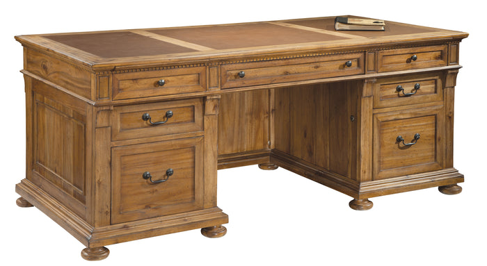 Hekman Office Wellington Hall Executive Desk 79300 - Curios And More