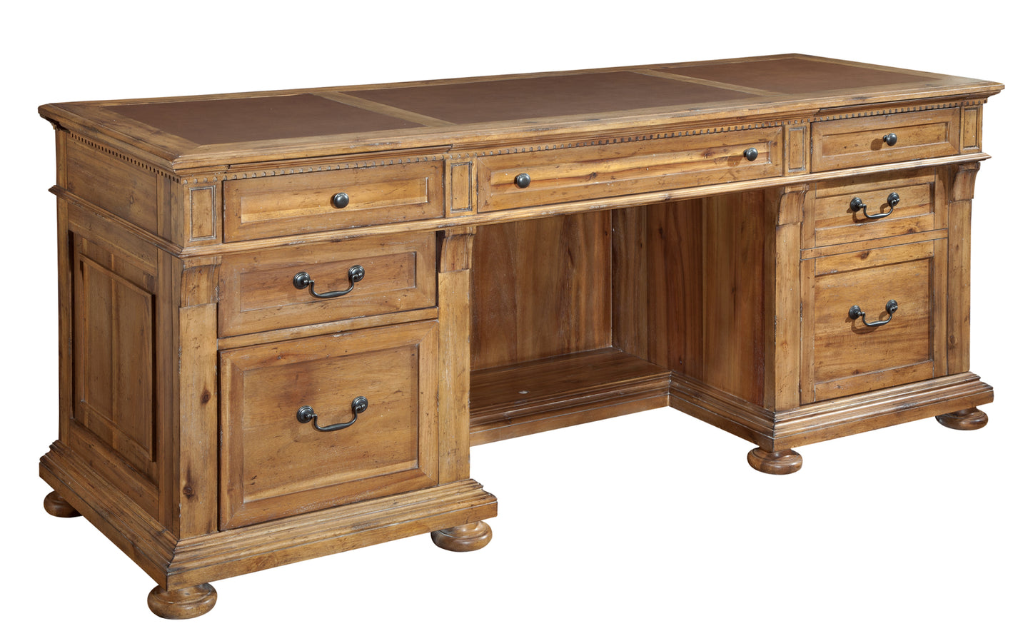 Hekman Office Wellington Hall Executive Credenza 79301 - Curios And More