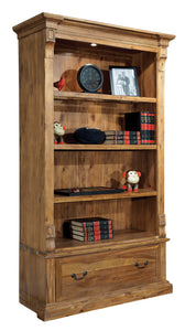 Hekman Office Wellington Hall Executive Center Bookcase 79304 - Curios And More