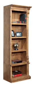 Hekman Office Wellington Hall Executive Right Pier Bookshelf 79305 - Curios And More
