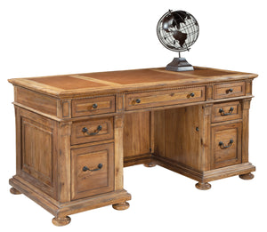 Hekman Office Wellington Hall Junior Executive Desk 79310 - Curios And More