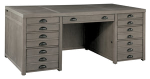 Hekman Office Typesetters Executive Desk 79360 - Curios And More
