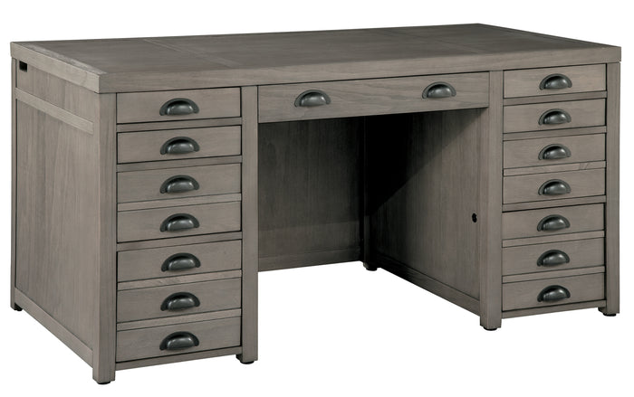 Hekman Office Typesetters Junior Executive Desk 79370 - Curios And More