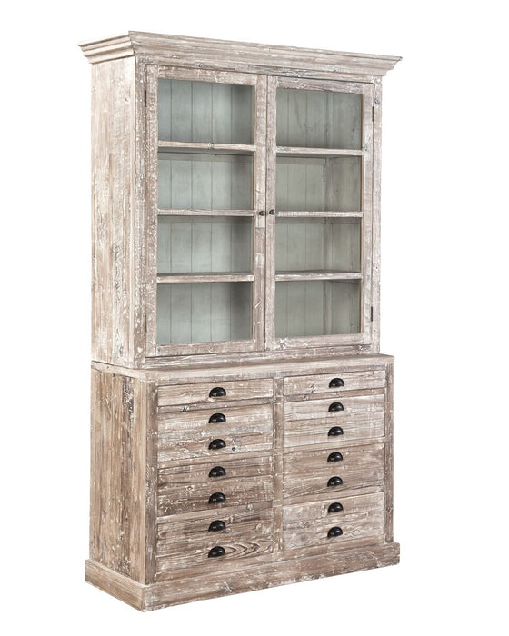 Furniture Classics Apothecary Bookcase 70248 - Curios And More