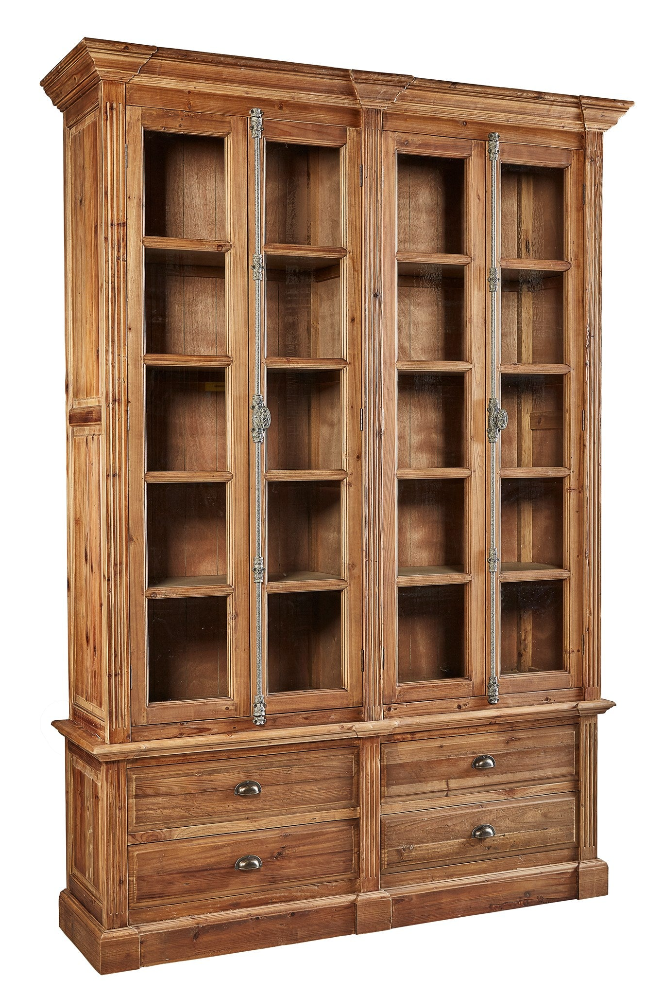 Furniture Classics Natural Old Fir Bookcase 84271 - Curios And More