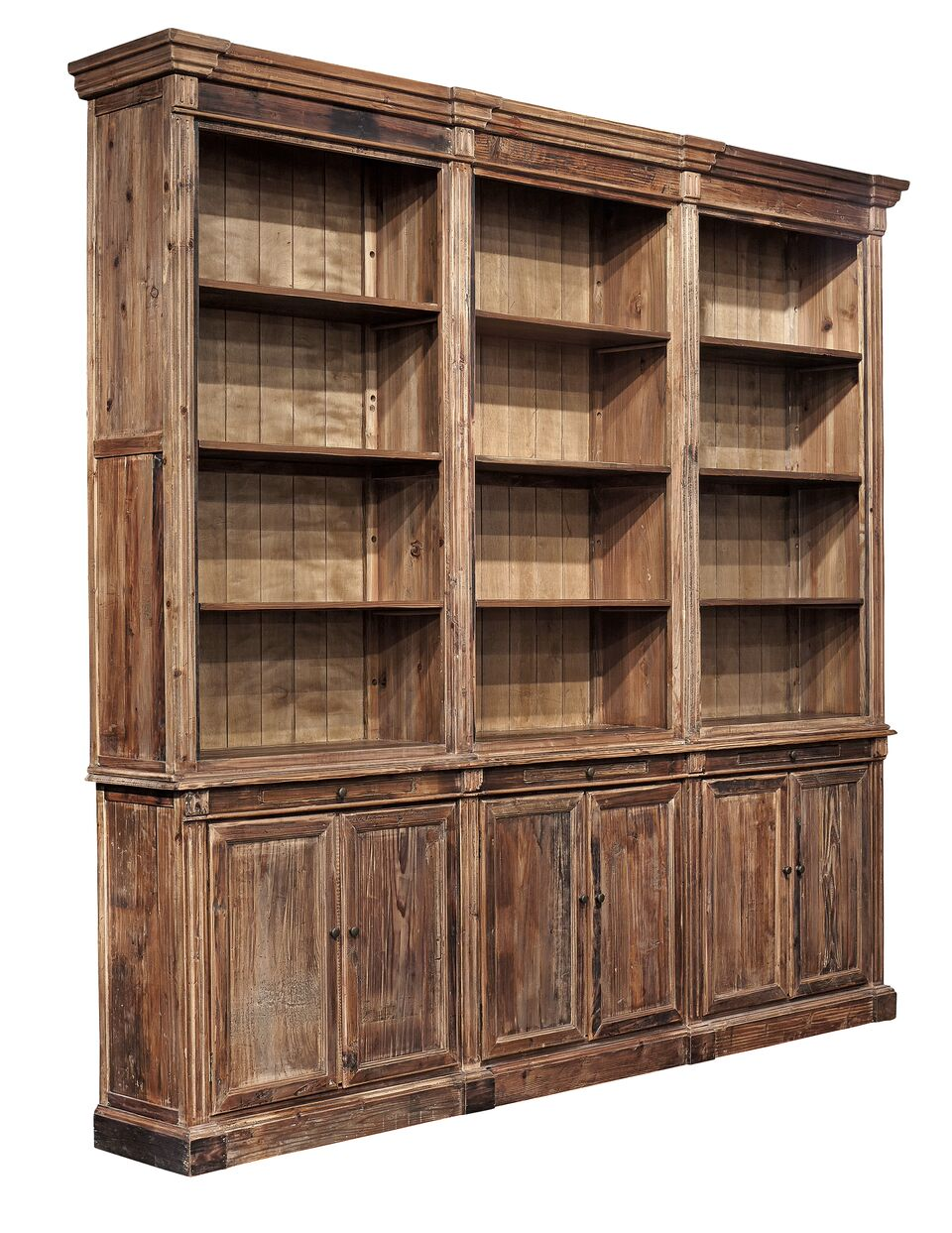 Furniture Classics Old Fir Grand Bookcase 72074 - Curios And More