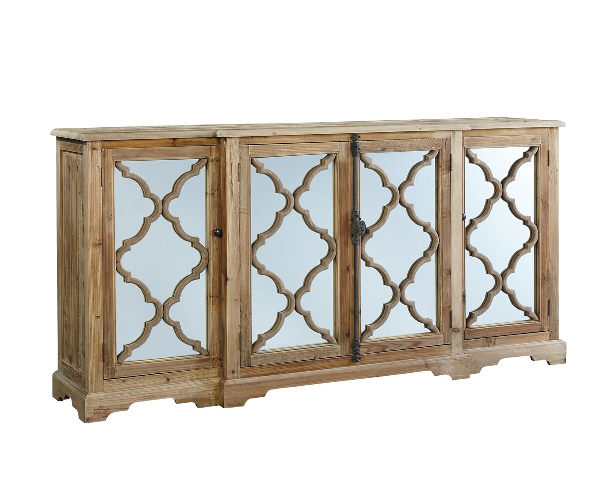 Furniture Classics Quatrefoil Buffet 20-018 - Curios And More