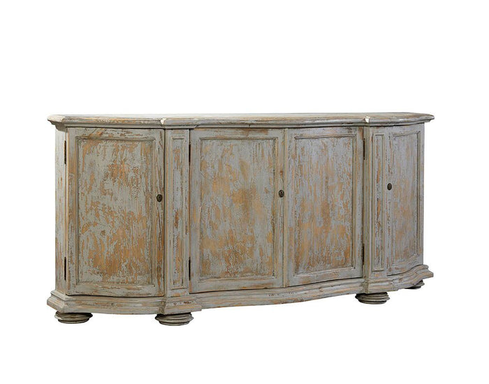 Furniture Classics Washed Blue Briquette Sideboard 20-130WB - Curios And More