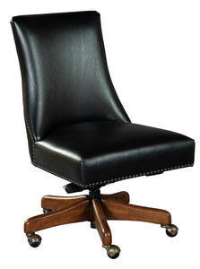 Hekman office@home Rounded Back Armless Desk Chair 7-9225 - Curios And More