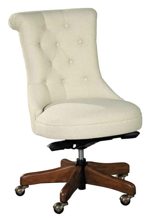 Hekman office@home Scroll Back Armless Desk Chair 7-9226 - Curios And More