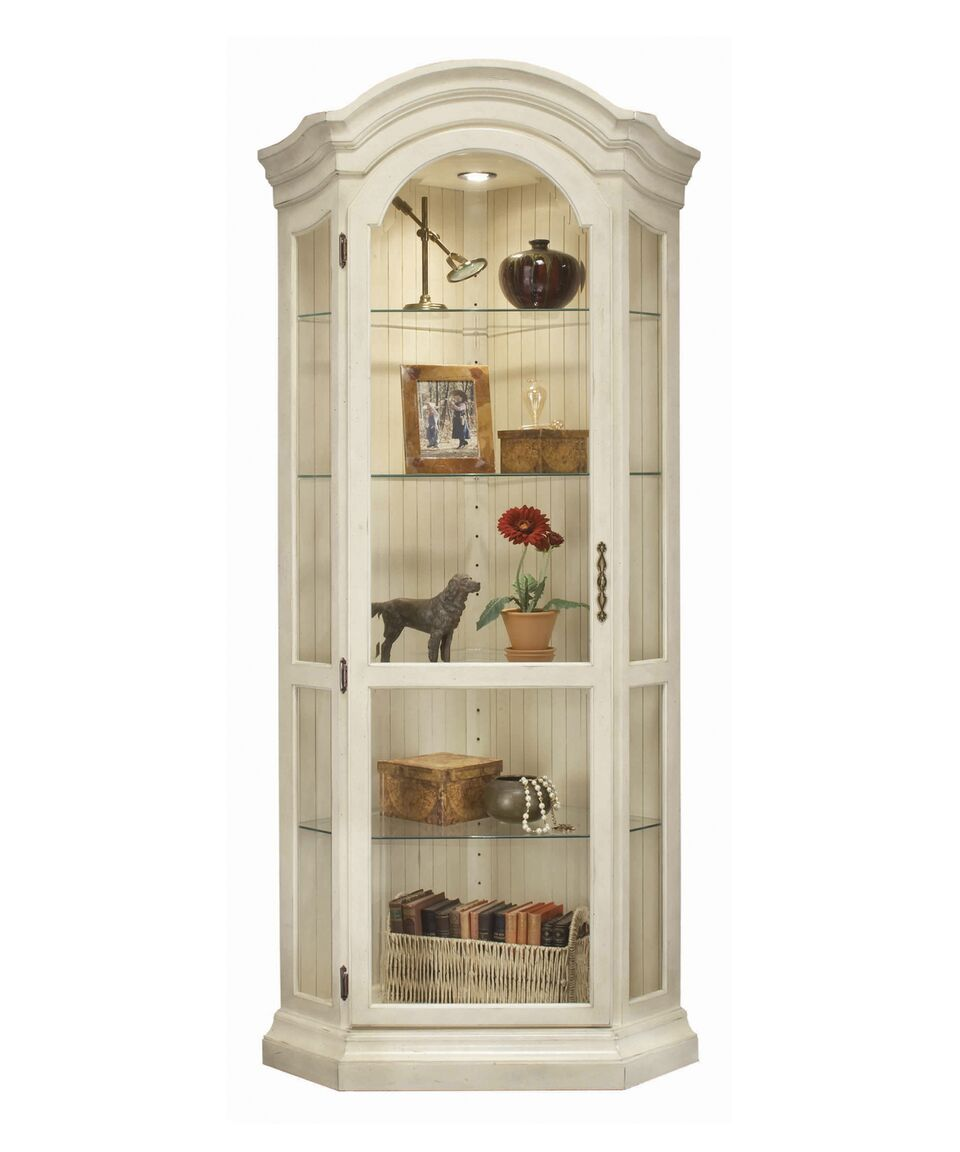 Philip Reinisch ColorTime Panorama Corner Display Cabinet 48958 - Curios And More