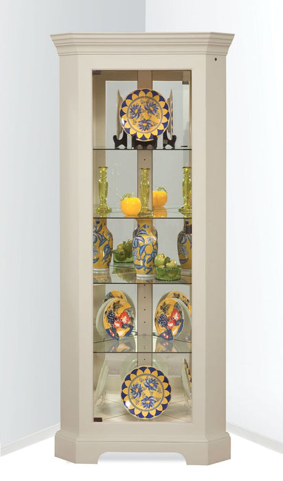 Philip Reinisch ColorTime Newport II Corner Cabinet 70958 - Curios And More