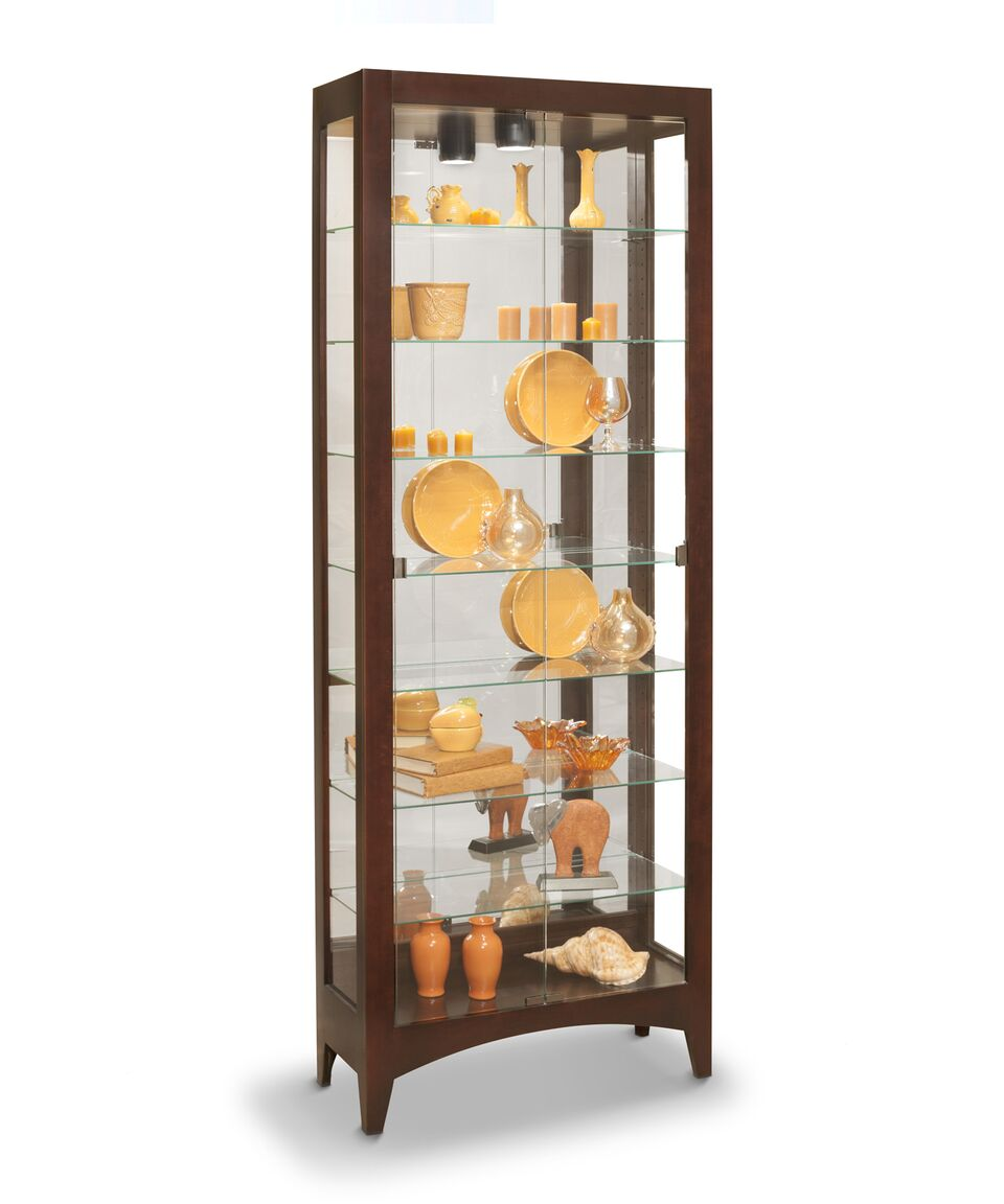 Philip Reinisch Lighthouse Simplicity II Curio Cabinet 33680 - Curios And More