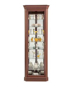 Philip Reinisch Lighthouse Octave II Corner Curio 54982 - Curios And More