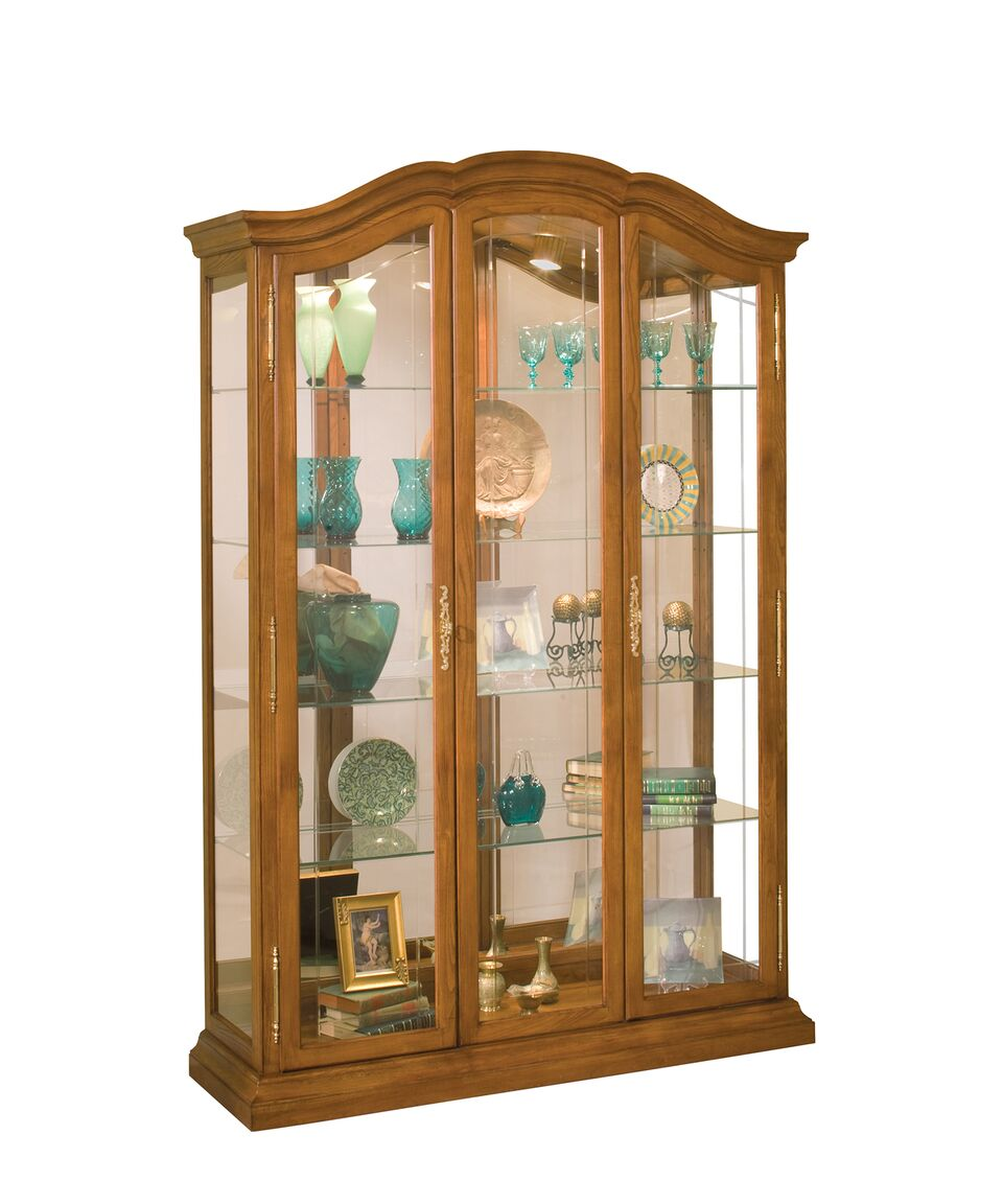 Philip Reinisch Lighthouse La Grange Collectors Curio Cabinet 90751 - Curios And More