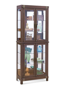 Philip Reinisch Power Tribeca I Curio Cabinet 12439 - Curios And More