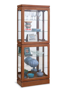 Philip Reinisch Power Brekenridge II Curio Cabinet 12751 - Curios And More