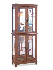 Philip Reinisch Power Tribeca II Curio Cabinet 12462 - Curios And More