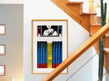 ROYAL RAFTERS (18x30in)