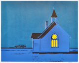 LA P'TITE ÉGLISE (19x15in)