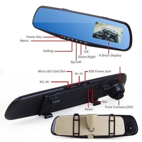 Review Mirror Camera