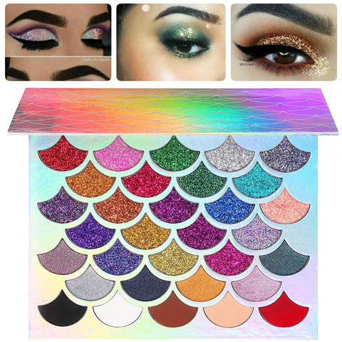 Original Mermaid Glitter Palette