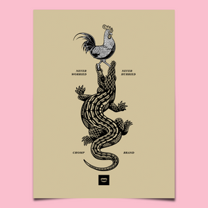Gator | Never Worried Poster