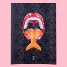 Fishy Lava Poster