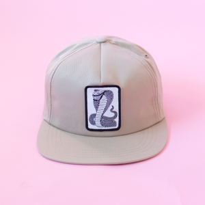 Snake Unstructured Hat