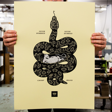 Snake | Never Worried Poster