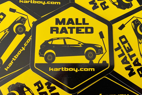 Mall Rated Stickers