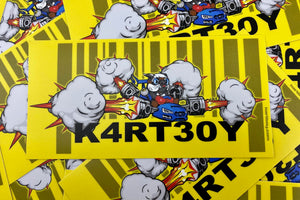 Kartboy Sticker Pack