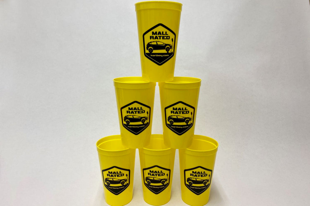 6 Pack of Mall Rated Cups. BYOD