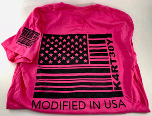 Women's Pink American Apparel Tees. Assorted Sizes