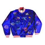 Ism Trademark bomber jacket (Royal/purple)
