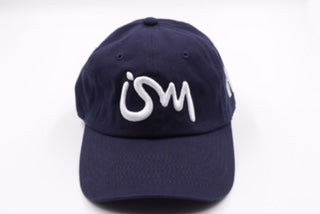 Ism Dad Hat (navy blue/white)