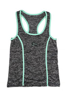 Ism Work-Out Set (Grey/neon Teal)