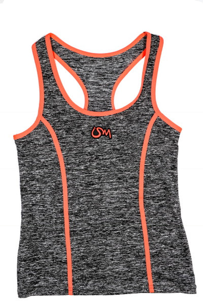 Ism Work-Out Set (grey/neon orange)
