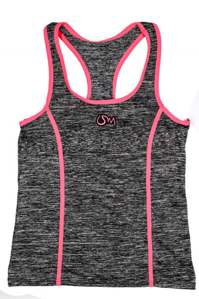 Ism Work-Out Set (Grey/neon pink)