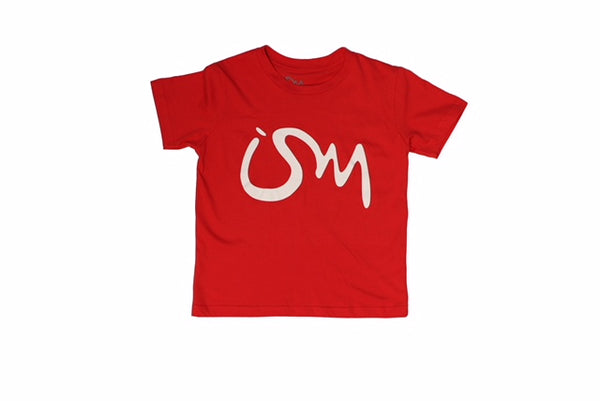 Ism kids Shirt (Red)