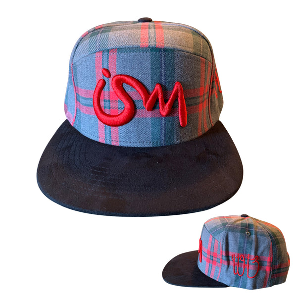 Ism 5 Panel Pendleton Hat (multi color)