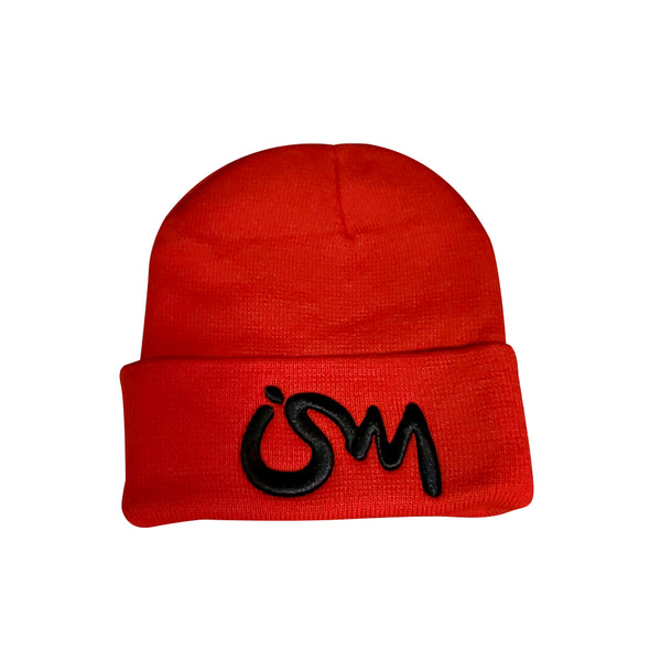 Ism Beanie (Red/black)