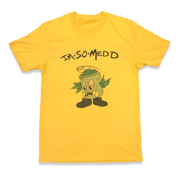 IM SO MED'D SHIRT (GOLD)