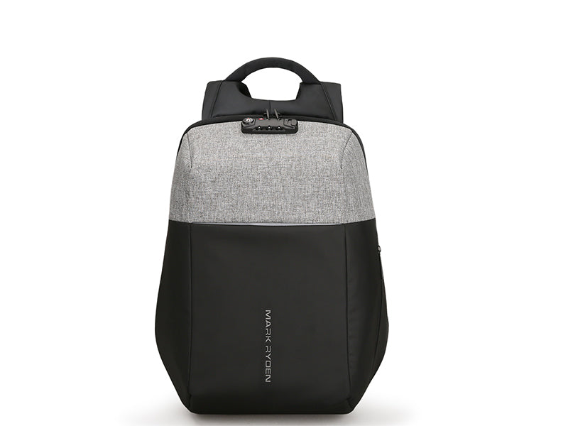 Anti-theft backpack recharging usb 2018  gray grey on way store