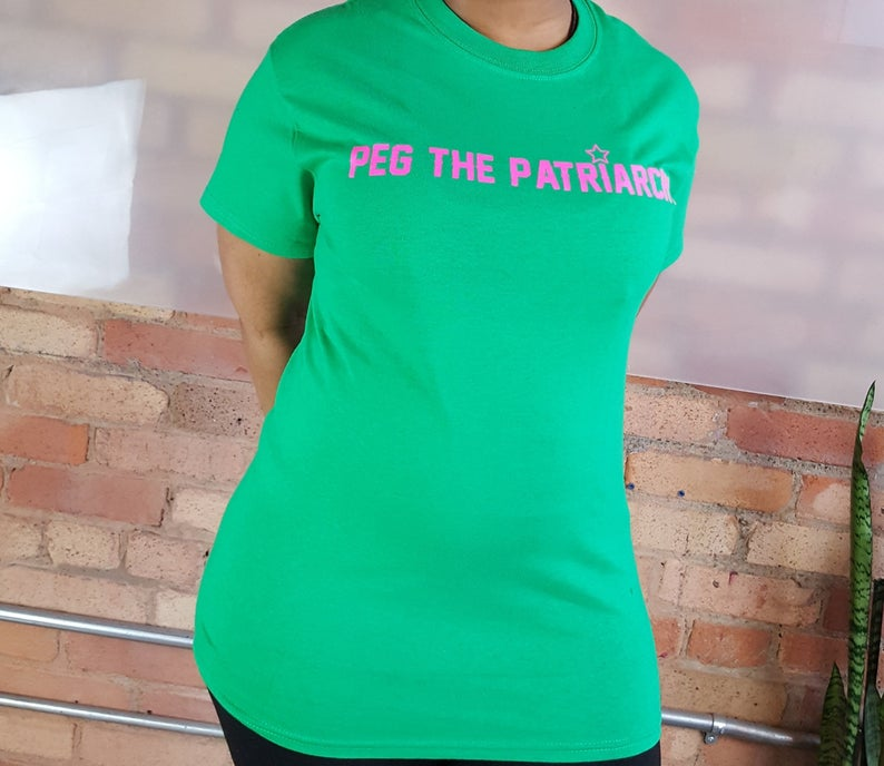 Green Peg The Patriarchy® T-Shirt